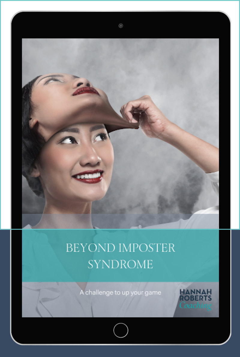 Beyond Imposter Syndrome